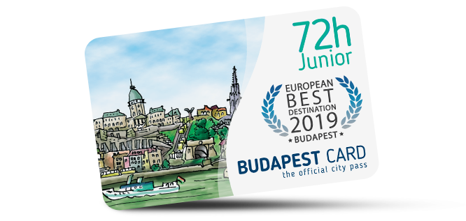Budapest Card Junior (72 hours)