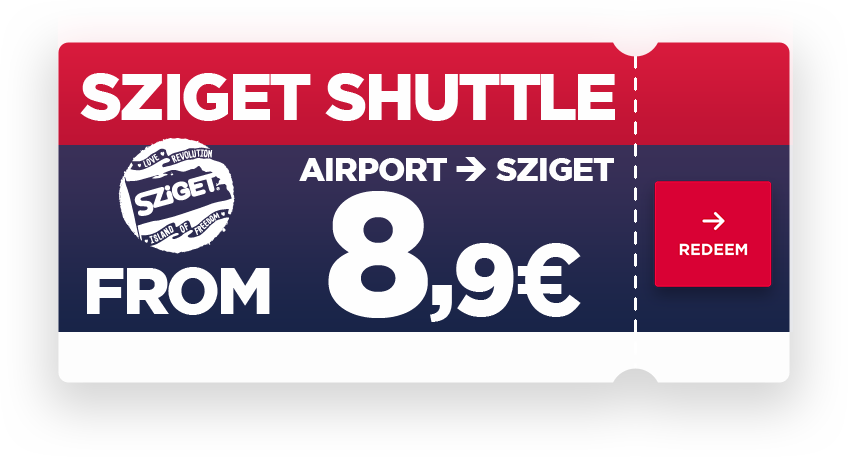miniBUD is the official transfer partner of the SZIGET Festival, and we are at your service at Budapest Airport. We await you with comfortable minibuses and on-time departures, to take you to the SZIGET or to the CITY. The SZIGET shuttle operates between August 4 and August 14. The schedule is adjusted to airplane arrivals, the buses drive straight to the venue of the SZIGET, from where they'll return to the airport. Book your return journey now, online!